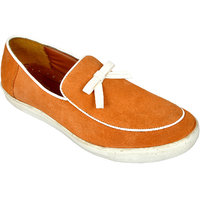 Allen Cooper Felix Tan Leather Casual Shoes