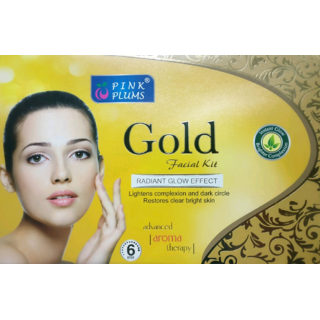 GOLD FACIAL KIT 6 IN 1