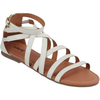 Lavie Women's White Sandals