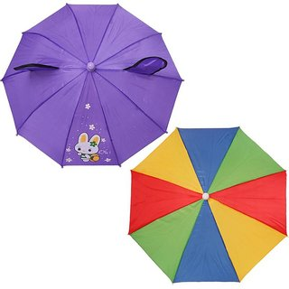 UROOJ FANCY 1 FOLD KIDS UMBRELLA