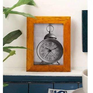Onlineshoppee Yellow Mango Wood Photo Frame