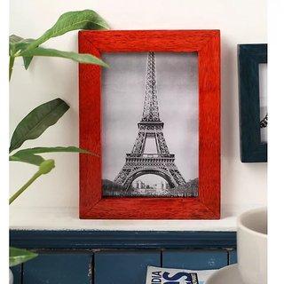 Onlineshoppee Red Mango Wood Photo Frame