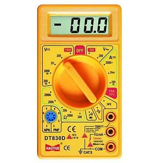 Multimeter digital-multimeter-34  D380 D for Continuity Current  Voltage Measurement
