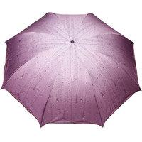 FabSeasons Purple 3 Fold Fancy Umbrella for all Weather