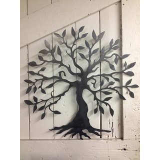 Metal Tree Wall Art   Wrought Iron   Home Decor   Wall Hanging