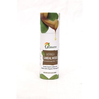 Grenera Moringa Sandalwood Aromatherapy Roll-On-Bottle-10ml