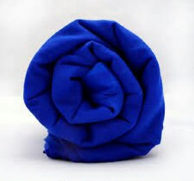 Royal Akali Blue 5.5 meter Full Voile Turban Fabric