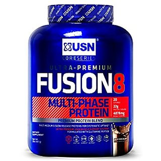 USN Fusion 8 Multi Phase Protein 4lbs Milk Chocolate