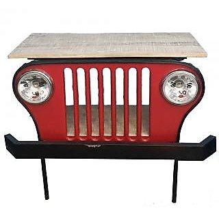 Buy Lalji Handicrafts Multicolor Iron Vintage Bar Counter Online