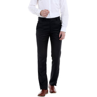Solemio Mens Viscose Trousers