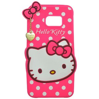 3184b768511 Buy Style Imagine Hello Kitty 3D Designer Back Cover For Samsung Galaxy S7  Edge - Pink Online - Get 55% Off