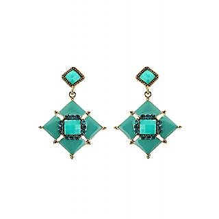 Rizir Fashion Women's Black Stones And Metal Alloy (Pack of 1)