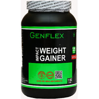 Genflex Impact Weight Gainer (Vanilla, 1 Kg/ 2.2 Lbs)