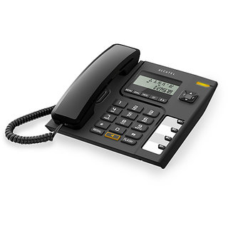 Alcatel T56 Corded Landline Phone (Black)
