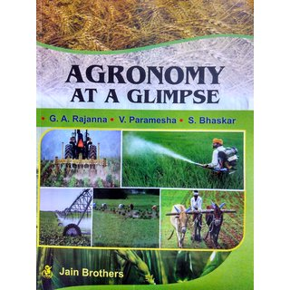 Agronomy at a Glimpse