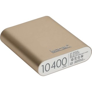 Lionix High Speed Fast Charge 10400 mAh PowerBank with 6 Months Manufacturing Warranty (Golden)