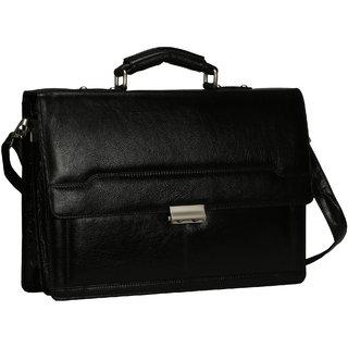 21e1e096a973 Buy Bharat Leather Emporium - 100 Pure Genuine Leather Laptop Messenger  Office Bag Online - Get 18% Off
