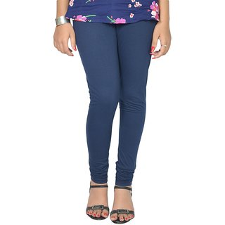 Le-Soft  Navy Blue Ruby Gold Leggings