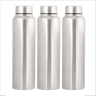 4da31e0bce5 Buy Home Story Stainless Steel Water Bottle 1000 ml Set of 3 Sipper ...