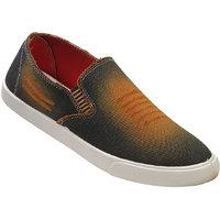 Walkaroo Orange Color Loafers For Men