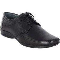 Shoebook Men's Black Leather Lace Up