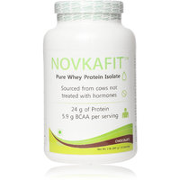 Novkafit Pure Whey Protein Isolate (Chocolate, 2 Lbs (9