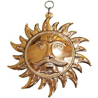 Handmade Brass Sun Mask