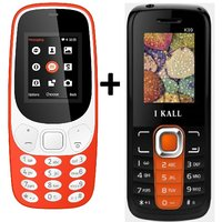 IKall K3310 Combo With K99 Basic Feature Mobile Phone