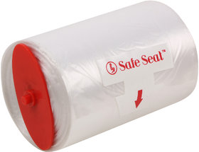 Safe Seat Toilet Transparent plastic rollls ( Pack of 5)