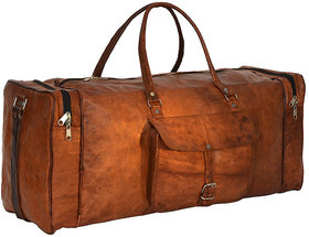 Clan Rover Leather Luggage Bag