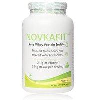 Novkafit Pure Whey Protein Isolate (Vanilla, 2 Lbs (907