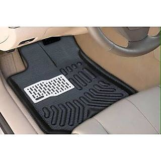 4D CAR MATS BLACK COLOR FOR HYUNDAI I20 ELITE