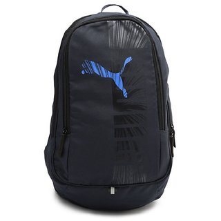 PUMA Unisex Navy Graphic Backpack available at ShopClues for Rs.1599 15a15f670f5ff