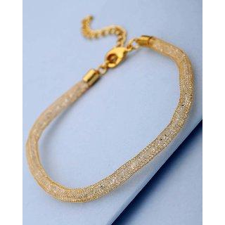 Voylla Stylish CZ Filled Bracelet For Women