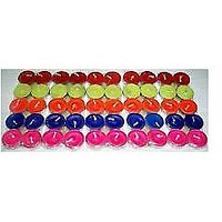 Pack Of 50 Colour  Tea Light Candles For Diwali, Birthday Parties Etc. - 5012548