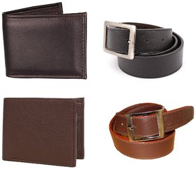 Classic 2 Belts and 2 Wallets combo