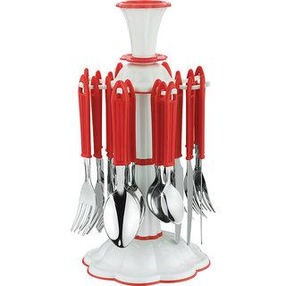 SRK Royal Revolving Cutlery Set of 24 Pcs