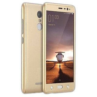 Buy iPaky 360 Protective Body Case with Tempered Glass For Samsung Galaxy J2 Prime - Gold Online - Get 0% Off