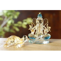 Anasa Decorative Crystal Hindu God Shri Ganesha Statue