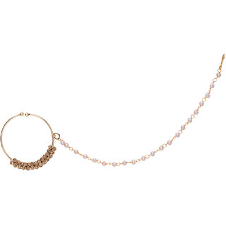 Penny Jewels Alloy Party Wear Designer Latest Nath Set For Women  Girls