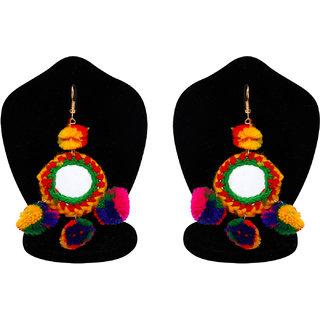 Penny Jewels Alloy Latest Designer Fancy Pom Pom Earring Set For Women  Girls