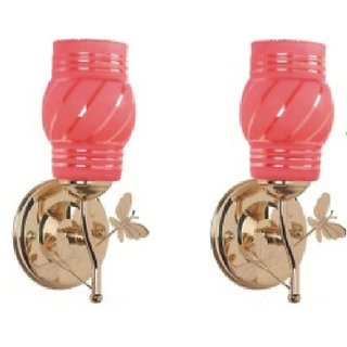 Somil New Designer Sconce Decorative & Colourful Wall Light  (Set Of 2)-MN169