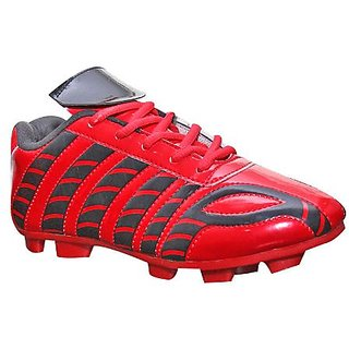 f27b0e26497ef6 Buy Sega Cordovan Leather Men Red Sports Football Shoes Online - Get 75% Off