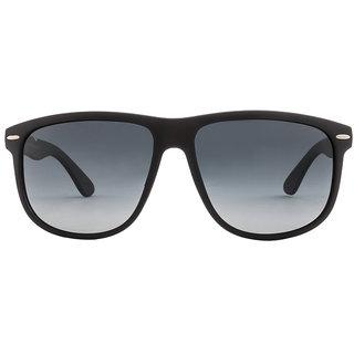Vincent Chase Colorato VC 5154 Matte Black Blue Gradient 1111/52 Wayfarer Polarized Sunglasses