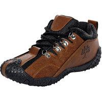 Birdy Pasco Men'S Black Brown Casual Shoes