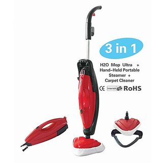 Buy Stayfit Red Black 3 In 1 Steam Mop Online ₹3995 From