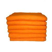STAYFiT Orange Cotton Car Duster 10 Pcs Pack