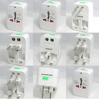 Universal All-in-one Travel Plug Adapter
