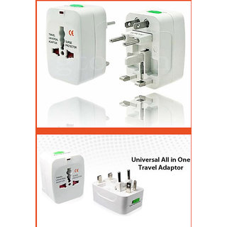 ALL IN ONE TRAVEL PLUG ADAPTER INTERNATIONAL UNIVERSAL