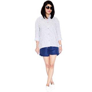 Nthroot Women's Drop Shoulder Shirt